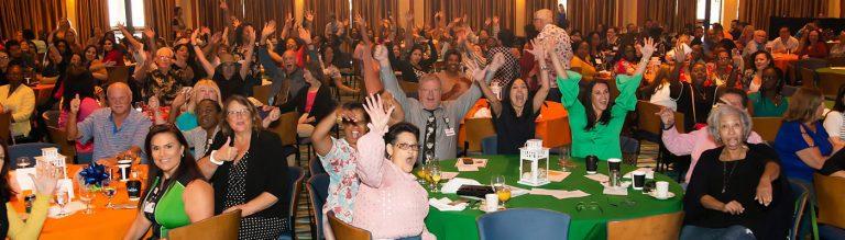 Medical Employees Celebrating