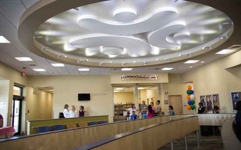 Health Center Lobby