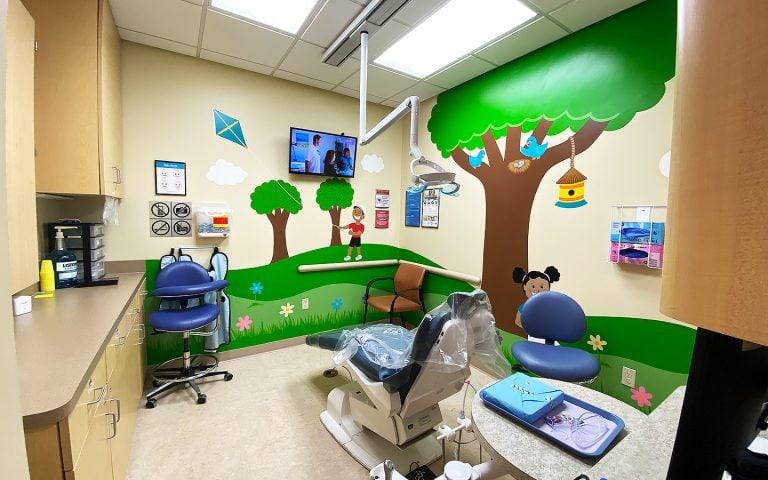 Pediatric Dental Operatory