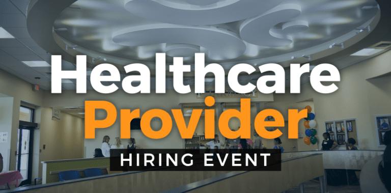 Health Provider Hiring Event - Winter Garden